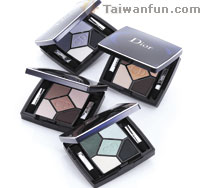 Christian Dior 5 Color Iridescent Eyeshadow (NT$1,950)--4 new compact powders!